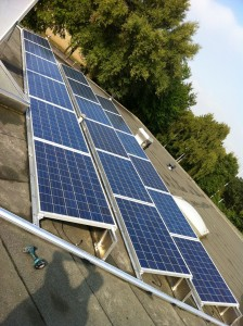 Plaatsing zonnepanelen Konnetlaantje 44 te Rijsenhout